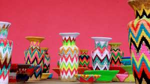 Gone Rural Fluoro Vases – Series 2 by Philippa Thorne, Gone Rural, Swaziland.