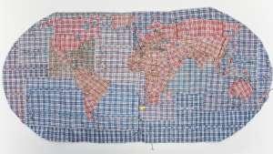 Rifugiato Mappa del Mondo 2011 by Dan Halter. Image: whatiftheworld