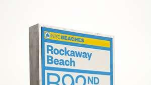 New York Beach Signs by Paula Scher.