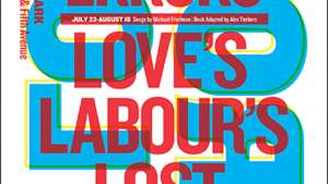 Shakespeare in the Park 2013 by Paula Scher.
