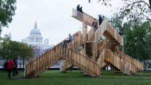 Endless Stair at London Design Festival. Photo: Susan Smart Photography.