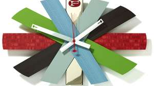 Formica anniversary clock by Michael Bierut & Daniel Weil.
