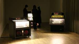 Yuri Suzuki's Juke Box Meets Tate Britain installation