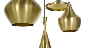 Beat Brass lamp by Tom Dixon.