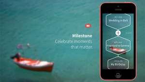 Milestone app by Marcel Wanders.