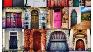 Doors of Cape Town print/canvas poster for sale.