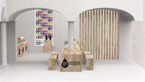 Bubble Lounge by Yves Béhar for SodaStream.