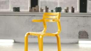 Dirk van der Kooij's RvR chair. Image: Dirk van der Kooij.