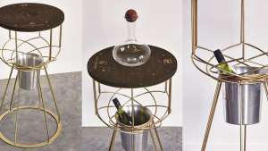 Zonnebloem Wine Serving Table by Haldane Martin. Image: Jan Verboom.
