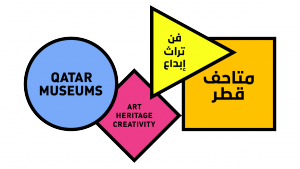 Qatar Museum logo and name by Wolff Olins.