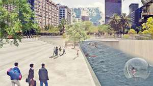 Student proposal for the Future Foreshore project.