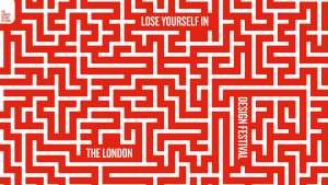 London Design Festival visual campaign by Domenic Lippa.