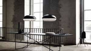 Morten Voss's Aeon Rocket pendant light for Lightyears.