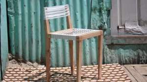 Bonga Jwambi back rest chair.