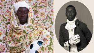"""Project Diaspora"" by Omar Victor Diop."