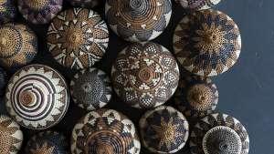 Baskets by Beauty Ngxongo. Photo: Jac de Villiers. Stylist: Liane Visser.