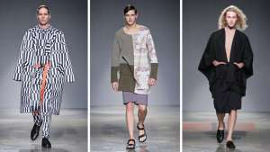 From soft pastel hues to bold silhouettes, menswear designers in Africa have adopted a new confidence.