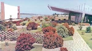The Cine Flamingo designed by Portuguese-born architect Francisco Castro Rodrigues.