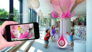 Shake your air is a beautiful, interactive form of air purification.