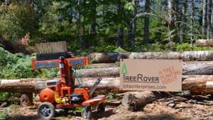 The TreeRover is an autonomous tree-planting robot.
