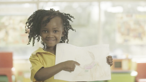 KFC Add Hope used drawings from 250 impoverished children.