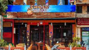 Located near the Taj Mahal in Agra, India, Sheroes Hangout is a café run by five women who have all survived acid attacks.