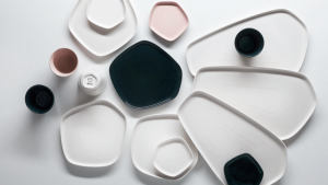 In a collaboration that marks new territory for both brands, Japanese fashion house Issey Miyake and Iittala have released a homeware collection