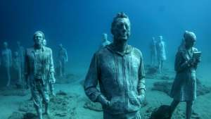Underwater sculptures speak to our collective responsibility