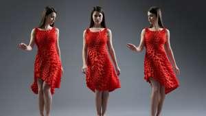 The Kinematics Petal Dress
