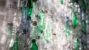Plastics degrade over hundreds of years, harming the environment.