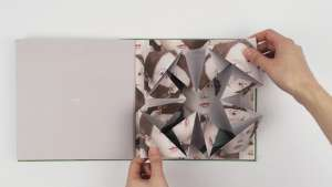 Cosmic Surgery combines photography and the delicate art of origami
