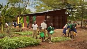The Njoro Children's Library designed by Patricia Erimescu