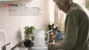 Callum Smith's project FrailTea uses grip data from a kettle to monitor the health of elderly people who live alone