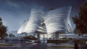the Xinhee Design Centre by MAD Architects