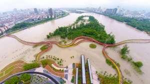 Yanweizhou aerial shot