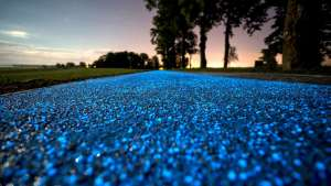 Poland's Illuminating Bike Path