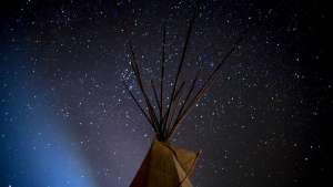 Tipi at Standing Rock