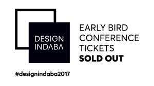 Design Indaba Conference early bird tickets sold out