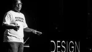 Osborne Macharia at Design Indaba 2017