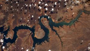 Thomas Pesquet aerial photograph