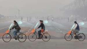 Daan Roosegaarde's Smog Free Bicycles