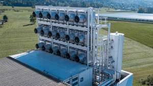 A Zurich-based CO2 removal company have presented a way to extract carbon dioxide directly from the air