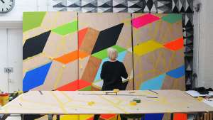 Morag Myerscough at work