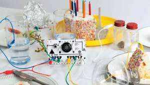 OTOTO is a musical invention kit which allows anyone to quickly and easily create their own electronic musical instrument.