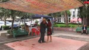 Plaza Ciudadela in Mexico. Image by Dennis Pieprz.