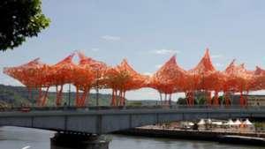 Camille installation by Arne Quinze.
