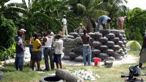 Earthship Haiti.