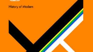The History of Modern by Peter Saville. Image via designboom.