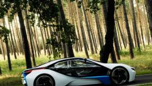 BMW Vision Efficient Dynamics.