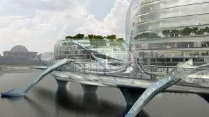 Paik Nam June Media Bridge by Planning Korea.